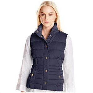 Lilly Pulitzer M Kate Puffer Vest Midnight Navy